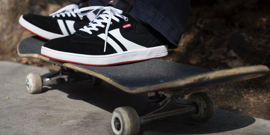Globe skate shoes: brand history